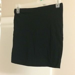 Form fitted mini skirt